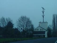 Historische Telegraphenstation mit Zeigertelegraph