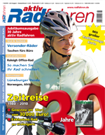 Titelblatt: aktivRadfahren Heft 7-8 / 2010.